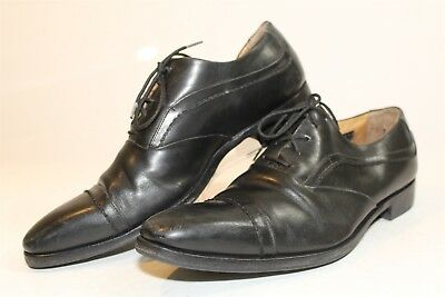 90fdb909533dd CALZOLERIA TOSCANA FOR Barneys New York Mens 8.5 Italy Made Dress Shoes  3452 xg