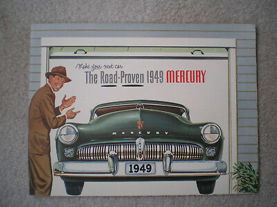 1949 Mercury Original Sales Brochure - Mint & Complete