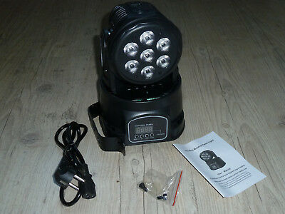 Lyre led wash 7x10w RGBW Moving Head