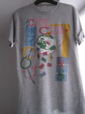 Culture Club 80s vintage grey T-shirt - numbers