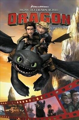 How to Train Your Dragon : Cinestory Comic, Paperback by Dreamworks (COR)