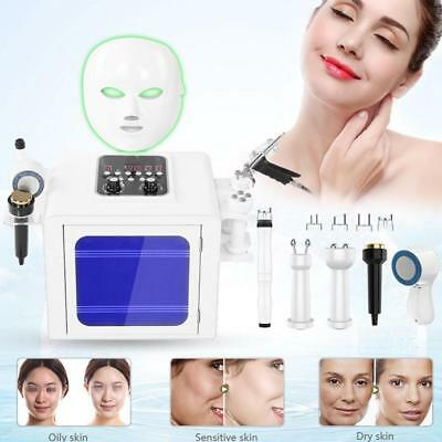 7Hydro Dermabrasion Diamond Microdermabrasion hydra Peel Oxygen Spray Machine AU