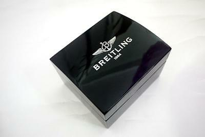 Breitling watch box wood leather
