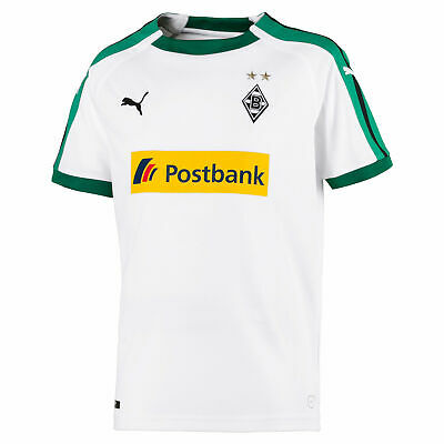 Borussia Monchengladbach Football Home Jersey Shirt Tee Top 2018 19 Kids PUMA