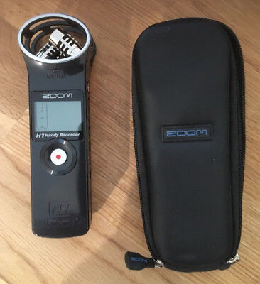 Zoom H1 2.0 Stereo Recorder MP3 Wave + 2 GB SDKarte H2