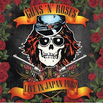 Guns N' Roses ‎– Live In Japan 1988 (2017)  CD  NEW/SEALED  SPEEDYPOST
