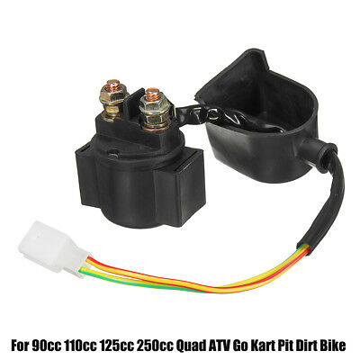 Atv,rv,boat & Other Vehicle 12v Starter Solenoid Relay For Atv Go Kart Pit Dirt Bike Quad 90cc 110cc 125cc Quality And Quantity Assured