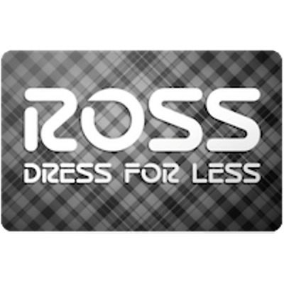Ross Gift Card $40 Value, Only $38.50! Free Shipping!