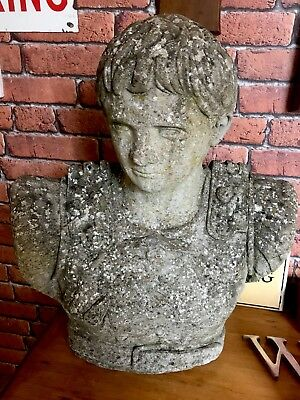 Antique Large Stone Statue
