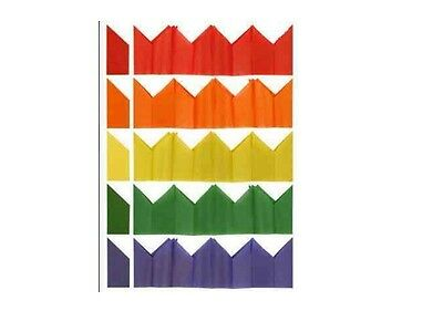 2000 Tissue Paper Cracker Birthday Party Celebration Hats Assortment Of Colours