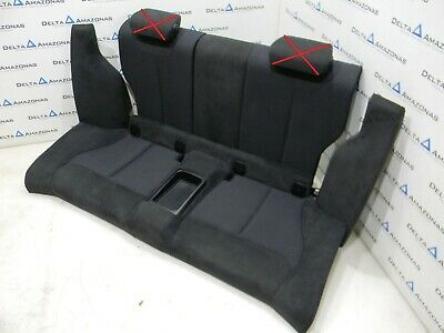 BMW F22 Hintersitze Sportsitze Sitze Rear Seats Leder Leather ALCANTARA ANTHRAZI