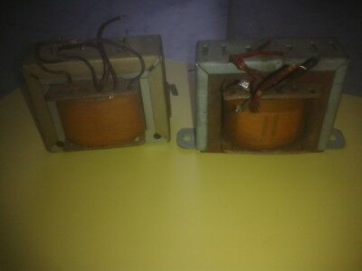 2 pcs EL84 output transformer big core EI66, tested, see text