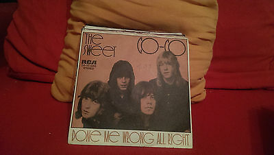 "Single 7"" The Sweet - Co  Co.....Siehe Foto."