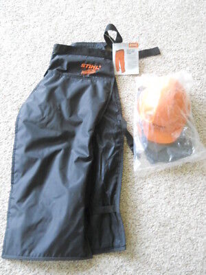 Stihl Woodcutter system new in the bag helmet and new chaps nice