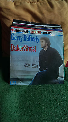 "Single 7""  Gerry Rafferty - Baker Street..Siehe Foto"