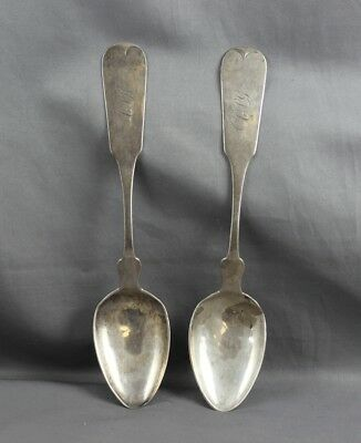 Southern American Coin Silver Dessert Spoon Pr Merriman Memphis Tennessee