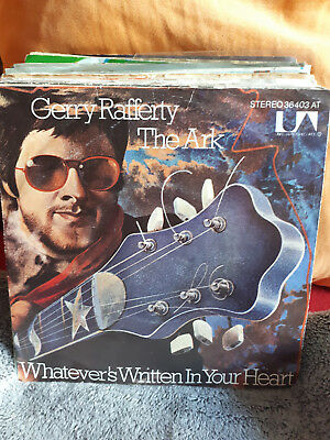 "Single 7""  Gerry Rafferty - The Ark....Siehe Foto"