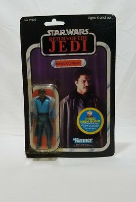 1983 Star Wars Return Of The Jedi Lando Cairissian Wearing A Blue Outfit