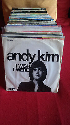 "Single 7"" Andy Kim - I Wish I Were... Siehe Foto"