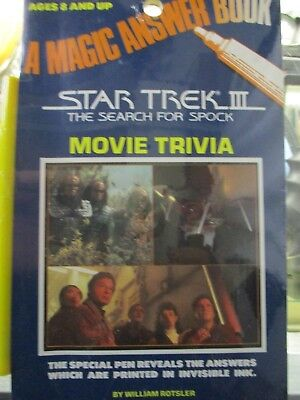 A Magic Answer Book Star Trek Iii