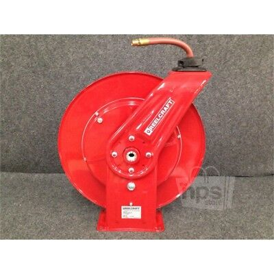 "Reelcraft 7850 OLP Spring Retractable Hose Reel 1/2"" x 50 Ft*"