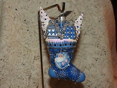 Patricia Breen Neiman Marcus Store Exclusive Jeweled Merrie Christmas LIMITED