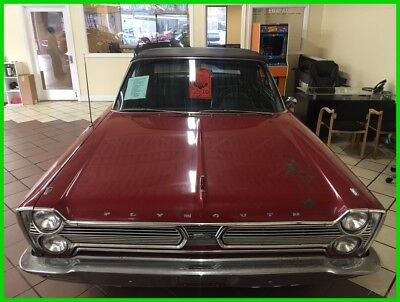 Plymouth SPORT FURY  1966 Plymouth Sport Fury Convertible, MUST SEE, BARN FIND, 383, Automatic