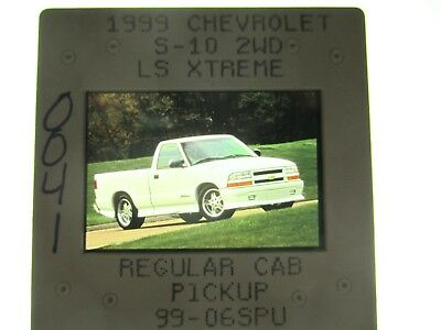 Chevrolet S-10 Xtreme Package Press Slide - 1999