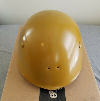 Ww2 Wwii Italian Helmet Fascist Italy Repainted, Patina And Liner