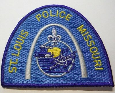 St Louis Missouri Police Patch Unused