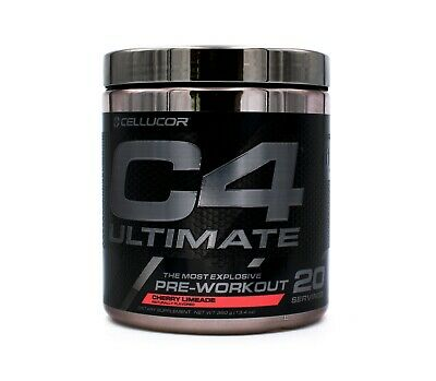 Cellucor C4 Ultimate Pre-Workout Build Muscle Extreme Energy (20 Srv)