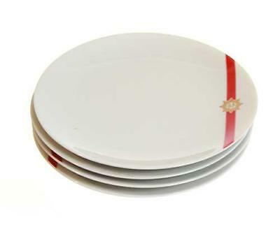 """3 Twa First Class Airline  Luncheon /salad  Plates Abco  44-1698 7"""""""