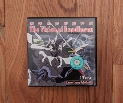 The Vision Of Escaflowne Japanese Anime English Subtitle 13 Disc Rare Video CD