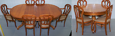 REDUCED!!!!-- Grange French Cherrywood Dining Table