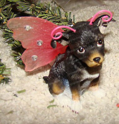 Keith Kimberlin Wings, Chihuahua Bejeweled Ornament (Westland, 21605)