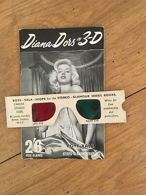 Diana Dors In 3D, Vintage Glamour Mag By Roye Vala