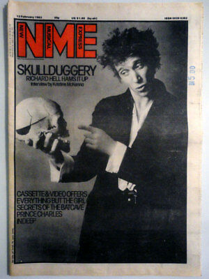 NME New Musical Express 12 Feb. 1983 Richard Hell Indeep Everything but the girl
