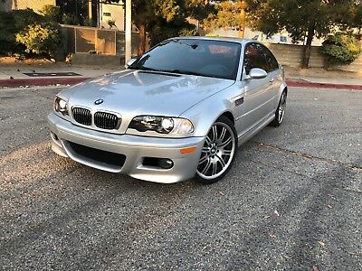 2004 BMW M3 SMG Coupe 2004 BMW M3 E46 Coupe SMG Silver Only 84K Miles Good Options! Clean Car