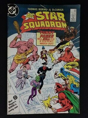 All-Star Squadron #64 1986 Dc