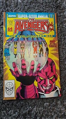 The Avengers SuperSize Annual 17 1988 Marvel