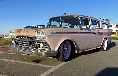 1959 AMC Rambler Custom 1959 Rambler Custom Station Wagon with complete updated drivetrain.