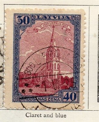 Latvia 1925 Early Issue Fine Used 40s. 267773