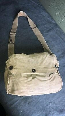 Original WW2 US Lightweight Gas Mask Bag