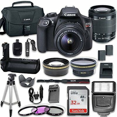 Canon EOS Rebel T6 DSLR Camera + Canon EF-S 18-55mm f/3.5-5.6 IS II Lens