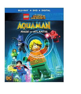 LEGO DC Super Heros: AQUAMAN - Rage of Atlantis Blu-ray + DVD + Digital HD