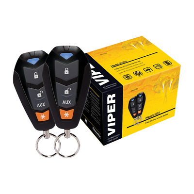 Viper 3105V 1 Way Car Alarm Vehicle Security System Keyless Entry 350V Plus