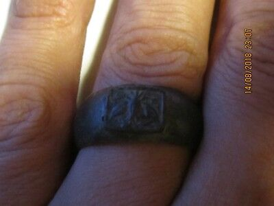 Rare Ancient VIKING BRONZE RING Artifact Authentic BRONZE Ring Good Patina!!!