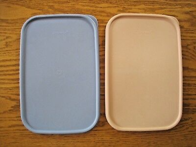 Vtg Tupperware Replacement #1610 Modular Mate Lid  PRICE FOR 1 LID PINK OR BLUE
