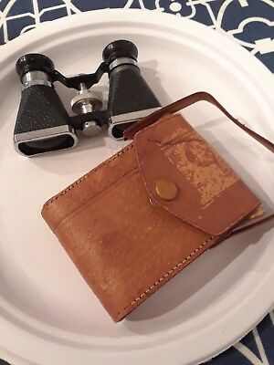 Vintage Small Binoculars With Case Made In Japan Ofuna 3 X 10 Coated