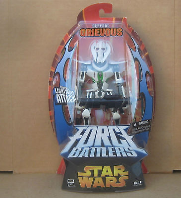 Star Wars Force Battlers General Grievous Multiple Lightsaber Attack New in Pack